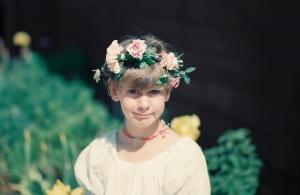 Dana flower crown